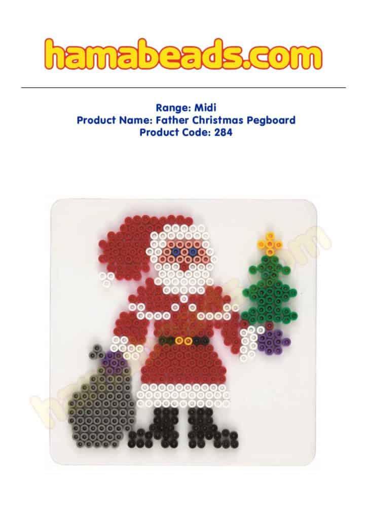 Christmas Hama Beads.Design Downloads Hama Beads